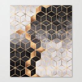 Smoky Cubes Canvas Print