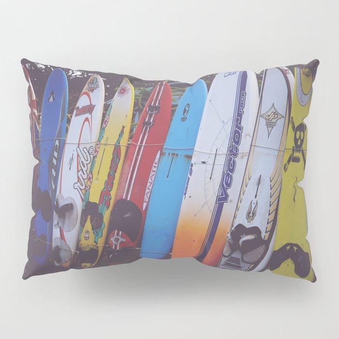 Surf-board-s up Pillow Sham