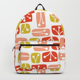 Fresh Abstract Floral Backpack