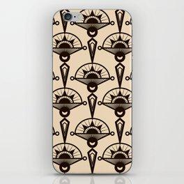 Seamless antique pattern art deco stylish print iPhone Skin