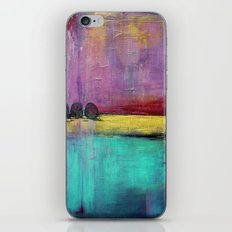 Jewel Thief - Textured Abstract Art iPhone & iPod Skin