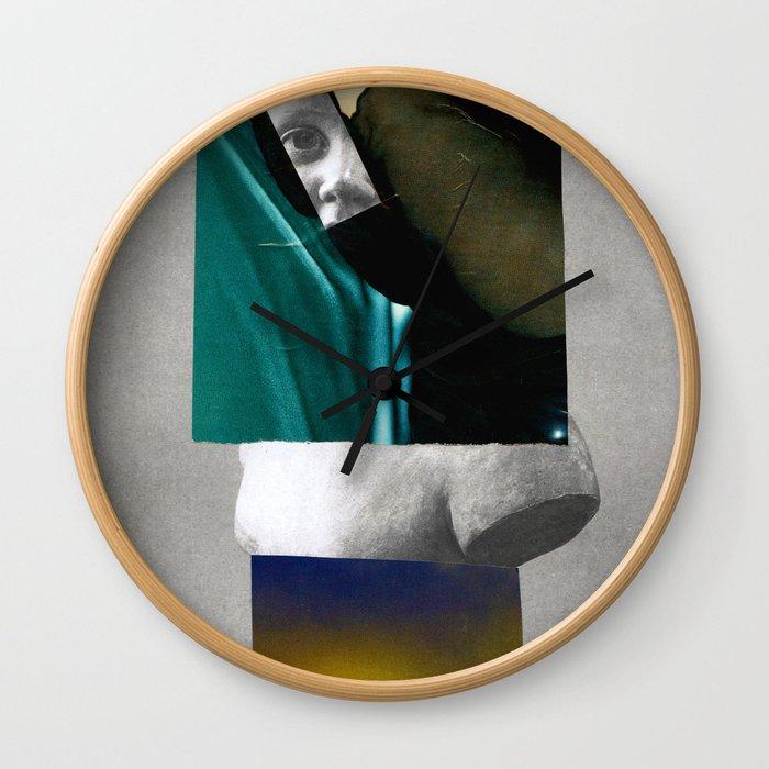 Corpsica 4 Wall Clock