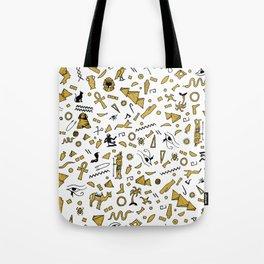 Egyptian Mini Hieroglyphics Tote Bag