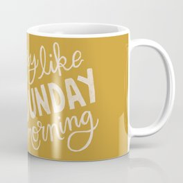 Easy Like Sunday Morning Coffee Mug