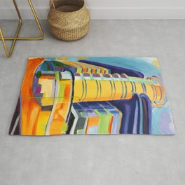 architecture abstract Rug