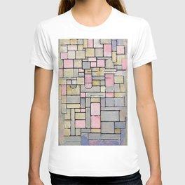 12,000pixel-500dpi - Composition 8 - Piet Mondrian T-shirt