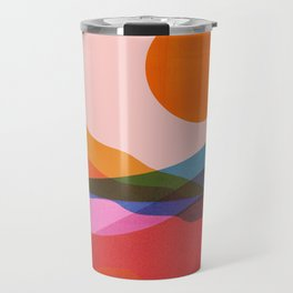 Abstraction_OCEAN_Beach_Minimalism_001 Travel Mug