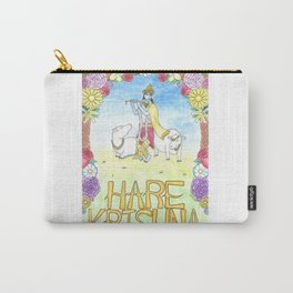Hare Krishna Carry-All Pouch