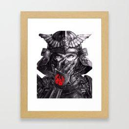 Samurai Clasic Framed Art Print