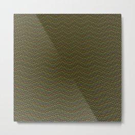Basilisk Scales Metal Print
