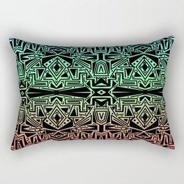 Scattered Sketch Rectangular Pillow