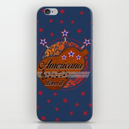 Americana - Lovin' it iPhone Skin