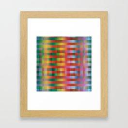 Fall/Winter 2016 Pantone Color Pattern Framed Art Print