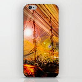Romance of sailing iPhone Skin