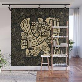 Aztec Eagle Warrior Wall Mural