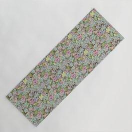 Succulent Pastel Yoga Mat