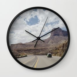 Road Trip Out West Wall Clock