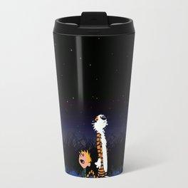 Calvin Hobbes Sky Travel Mug