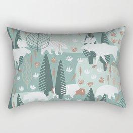 Yellowstone (Moss) Rectangular Pillow