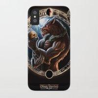 werewolf iPhone & iPod Cases featuring WEREWOLF by TheMagicWarrior