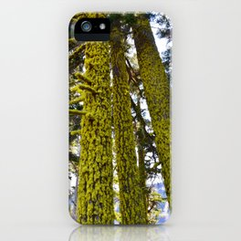 Lichen Madness - Crater Lake National Park iPhone Case