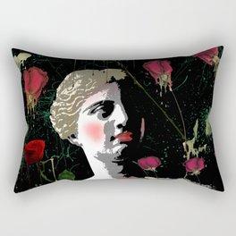 Aphrodite in the gardens Rectangular Pillow