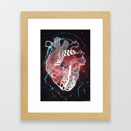 COSMOS. Framed Art Print