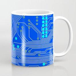 Blue Circuit Board  Coffee Mug