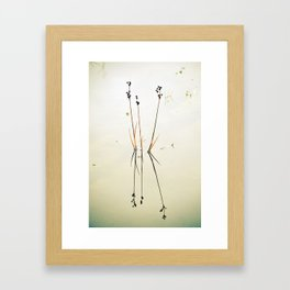 Reed Reflections Framed Art Print