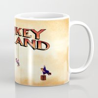 monkey island Mugs featuring Monkey Island - Treasure found! by Sberla