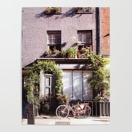 Those Famous Mews, London Poster