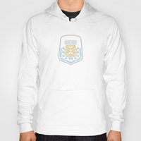 argentina Hoodies featuring Argentina Crest by George Williams