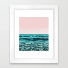 Ocean Love #society6 #oceanprints #buyart Framed Art Print