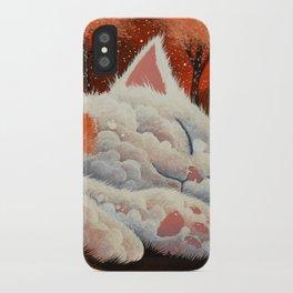 SLEEPING CLOUD by Raphaël Vavasseur iPhone Case