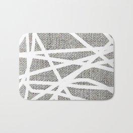 scribble pattern Bath Mat
