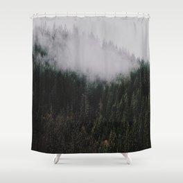 Forest Fog IV Shower Curtain