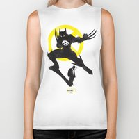 xmen Biker Tanks featuring Xmen - Logan Alter Ego  by Bklounge
