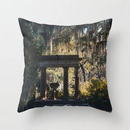 Bonaventure Cemetery - Savannah, Georgia Throw Pillow