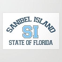 Sanibel Island - Florida. Art Print
