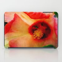 hibiscus iPad Cases featuring Hibiscus by Christine Belanger