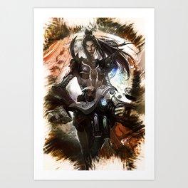 League of Legends PULSEFIRE CAITLYN Art Print