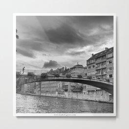 Le Pont Metal Print
