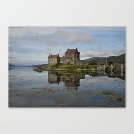 Probably Europe's Most Famous Tidal Island Canvas Print