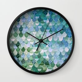 REALLY MERMAID OCEAN LOVE Wall Clock