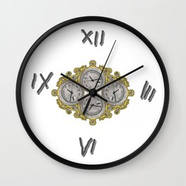 IV O'Clocks Wall Clock
