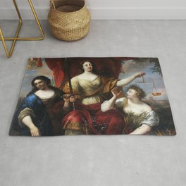 Justice (or Prudence, Justice, and Peace) Rug