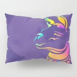 Llamita violeta by #Bizzartino Pillow Sham