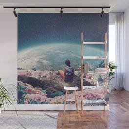 My World Blossomed when I Loved You Wall Mural
