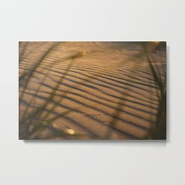 SAND DUNE WHISPERS IN COLOR Metal Print