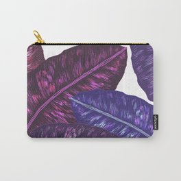 Tropical Leaves - Ultra Violet 1 Carry-All Pouch